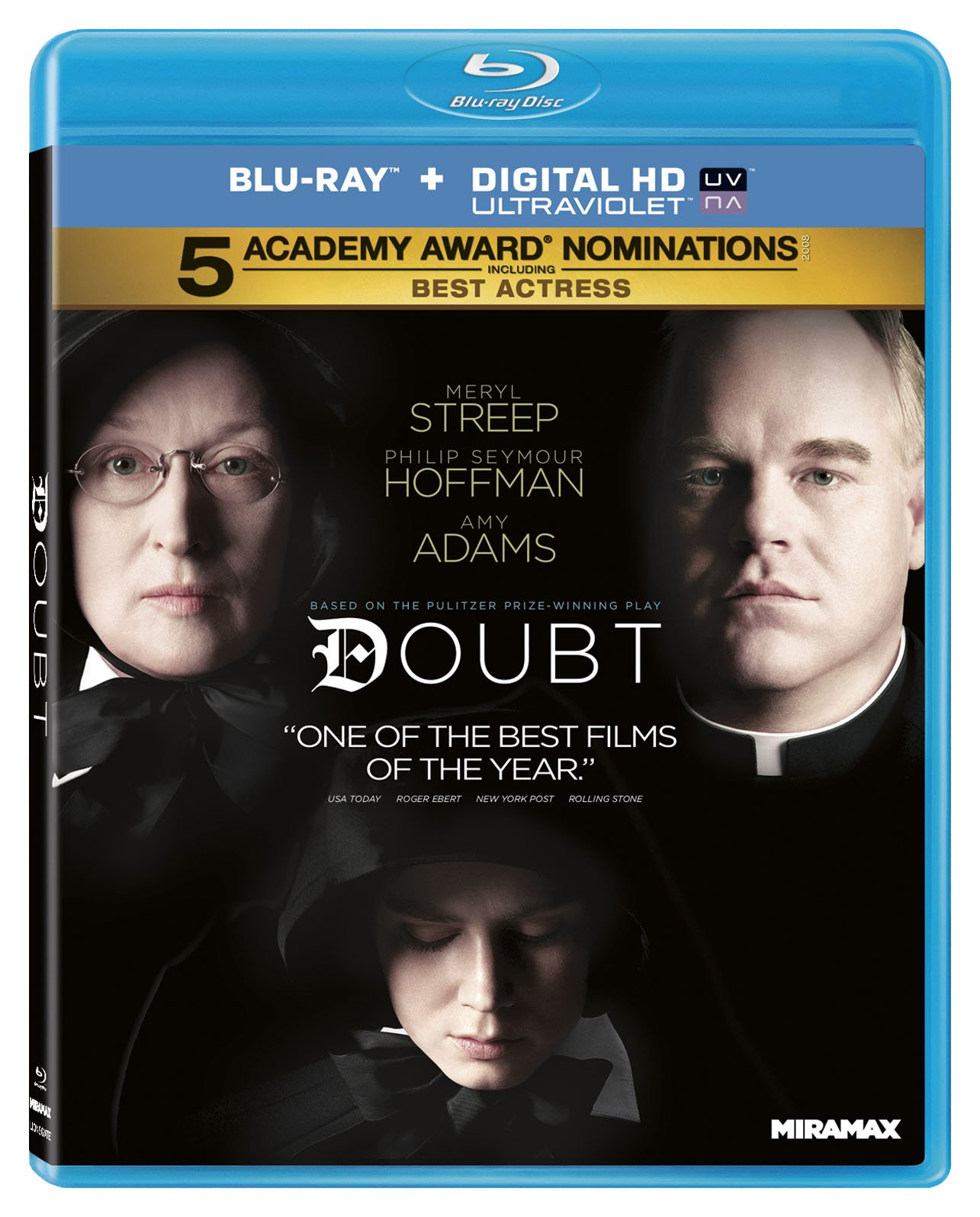 Blu-ray : Doubt (Widescreen, Dolby, AC-3, Digital Theater System)