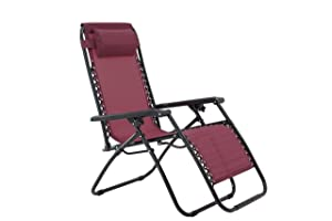 Zero Gravity Chair-Burgundy