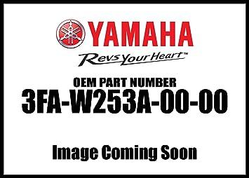 Yamaha 3FA-W253A-00-00 BRAKE SHOE KIT; 3FAW253A0000 3FA-W253A-00-00 3FA-W2534-00-00 437-W2534-10-00