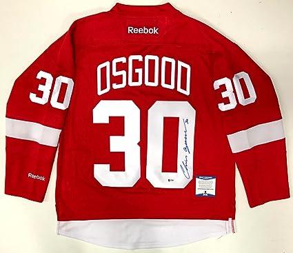 24d5f8c23 Signed Chris Osgood Jersey - Reebok Premier Psa dna Coa - Beckett ...