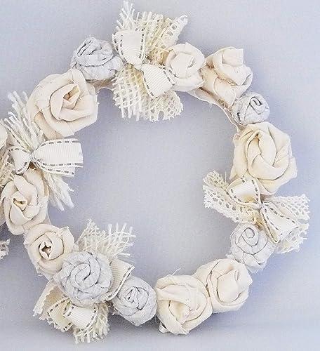 Blumenkranz Handgearbeitetes Unikat Tischdeko Turkranz Wandkranz