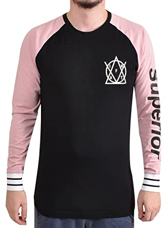 9516c6cd166 Loyalty   Faith Mens Printed Branded T Shirt Graphic Long Sleeve Crew Neck  Tee  Amazon.co.uk  Clothing