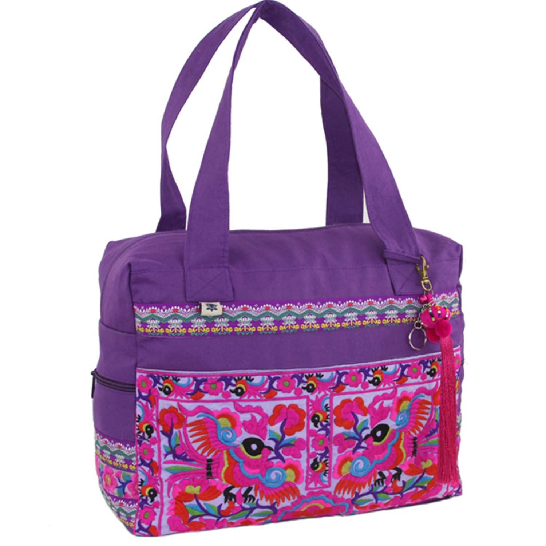 Global Groove B Hmong Retreat Bag Purple