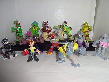 Mister un regalo Tortugas Ninja half-shell Heroes Juego de ...