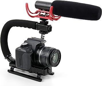 Stabilisateur Compatible Avec Appareil Photo Canon Ixus 185