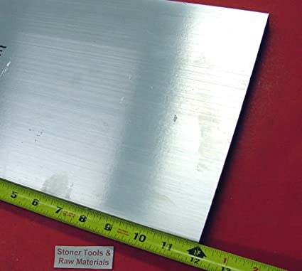 "1//2/"" X 5/"" x 10 1//8/""   ALUMINUM 6061 Solid Plate Stock .50 thick"