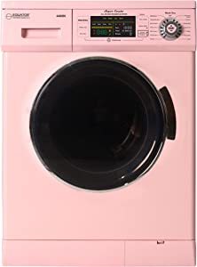"Equator 2019 24"" Combo Washer Dryer Winterize+Quiet (Pink)"