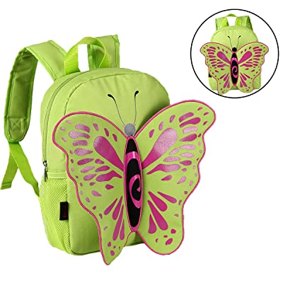 Advocator Children Backpack Kindergarten School Bag Butterfly Bags with Wings