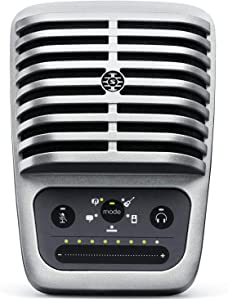 Shure MV51 Digital Large-Diaphragm Condenser Microphone + USB, Lightning & USB-C Cable