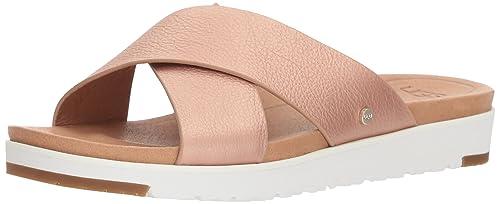 2ab53a1275722 UGG Women s Kari Metallic Leather Sandal  Amazon.co.uk  Shoes   Bags