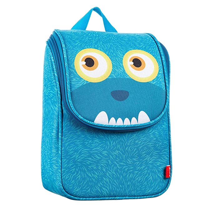 ZIPIT Wildlings Lunch Bag for Children, Blue