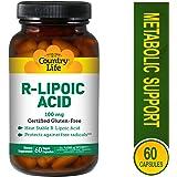 Ácido R-lipoico, 100 mg, 60 Caps Veggie - Vida en el campo