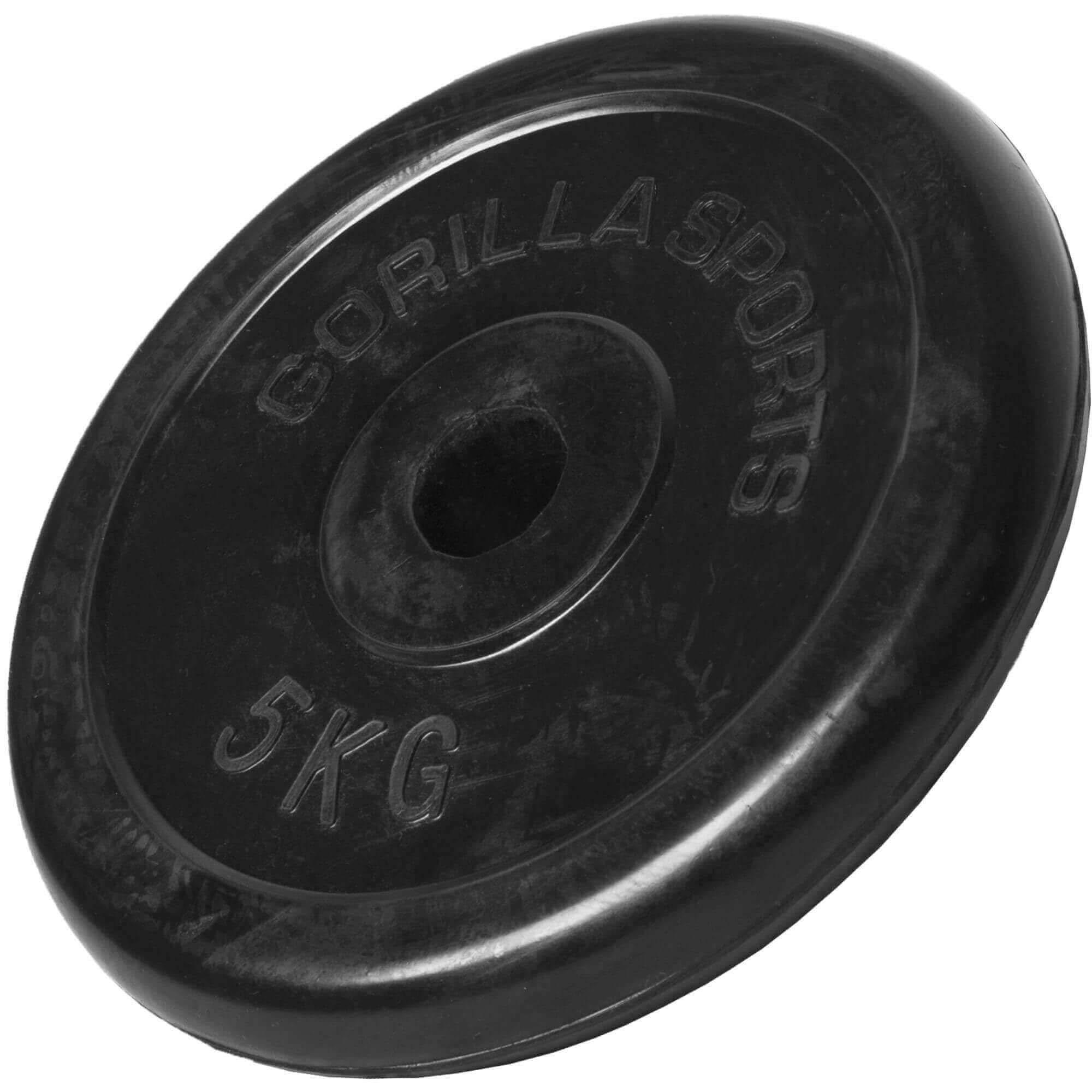 50/mm Olympia hole polyurethane-coated cast iron single black Suprfit polyurethane dumbbell disc with handle