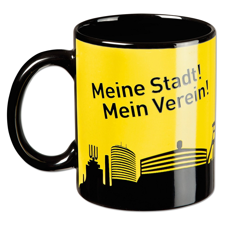BVB Borussia Dortmund Tasse Magic Mug Skyline Zaubertasse