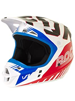 Casco Mx Fox Limited Edition Fiend V1 Azul-Rojo (Xl , Azul)
