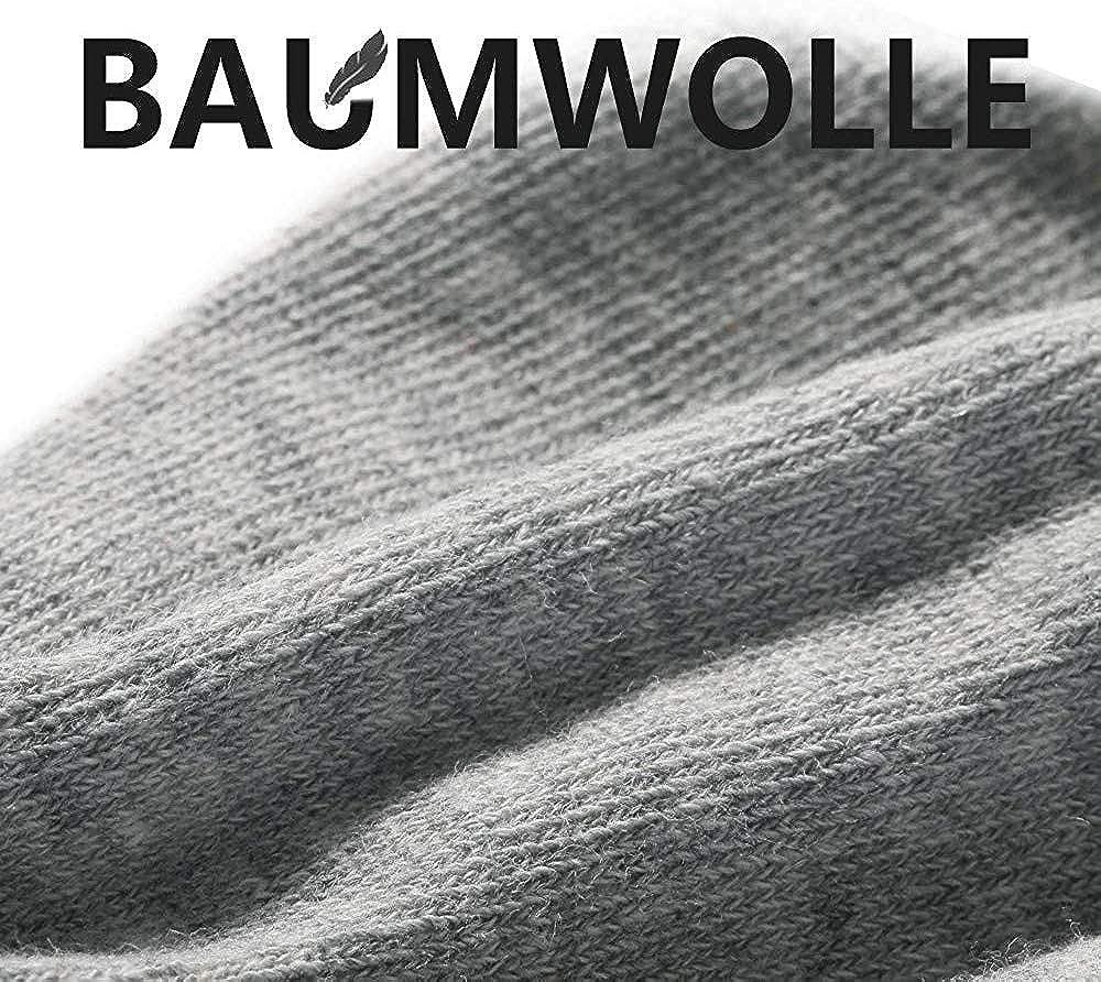 YOUCHAN Calzini Donna Uomo Fantasmini Calze 10 Paia Invisibili Sportive Antiscivolo Cotone con Taglio Basso