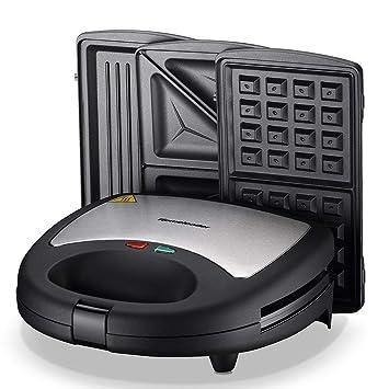 Homeleader 3 In 1 Sandwich Maker Electric Waffle Maker Amazon In Electronics