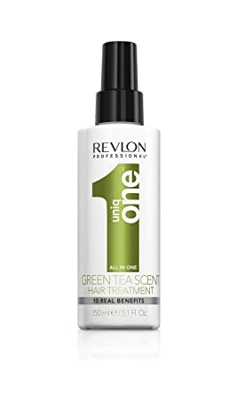 Oferta amazon: Revlon Professional UniqOne Té Verde Tratamiento en Spray para Cabello 150 ml