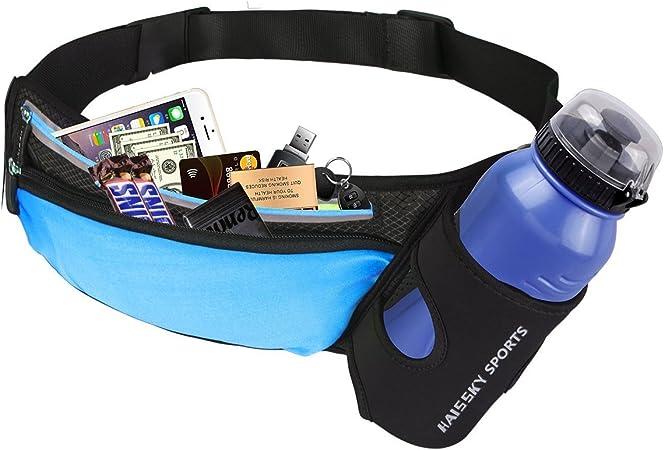 UK Outdoor Running Water Bottle Waist Bag Mobile Phone Holder Jogging Belt