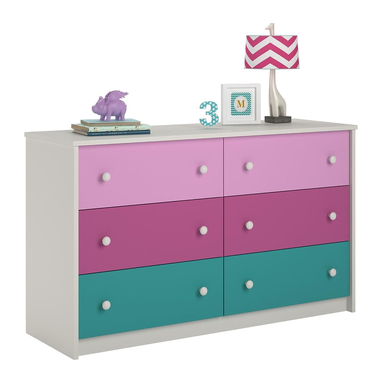 drawer kids collection dresser highlands for mirror ne