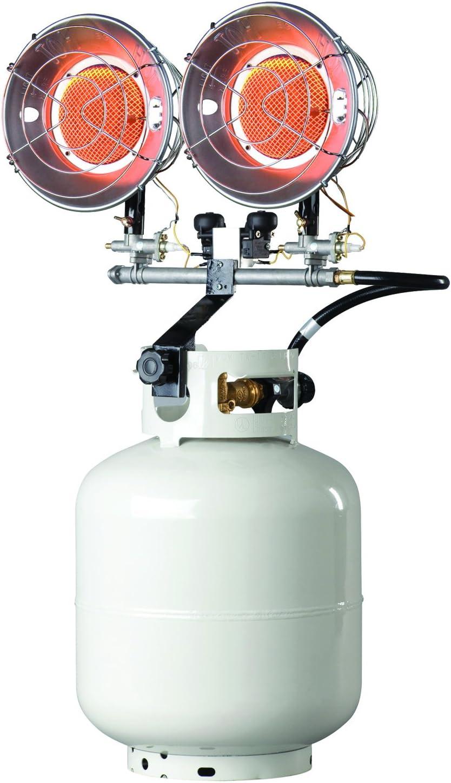 Mr. Heater f242655 mh30ts Doble Tanque Superior al Aire Libre Calentador, 8000 A 30000 BTU por Hora