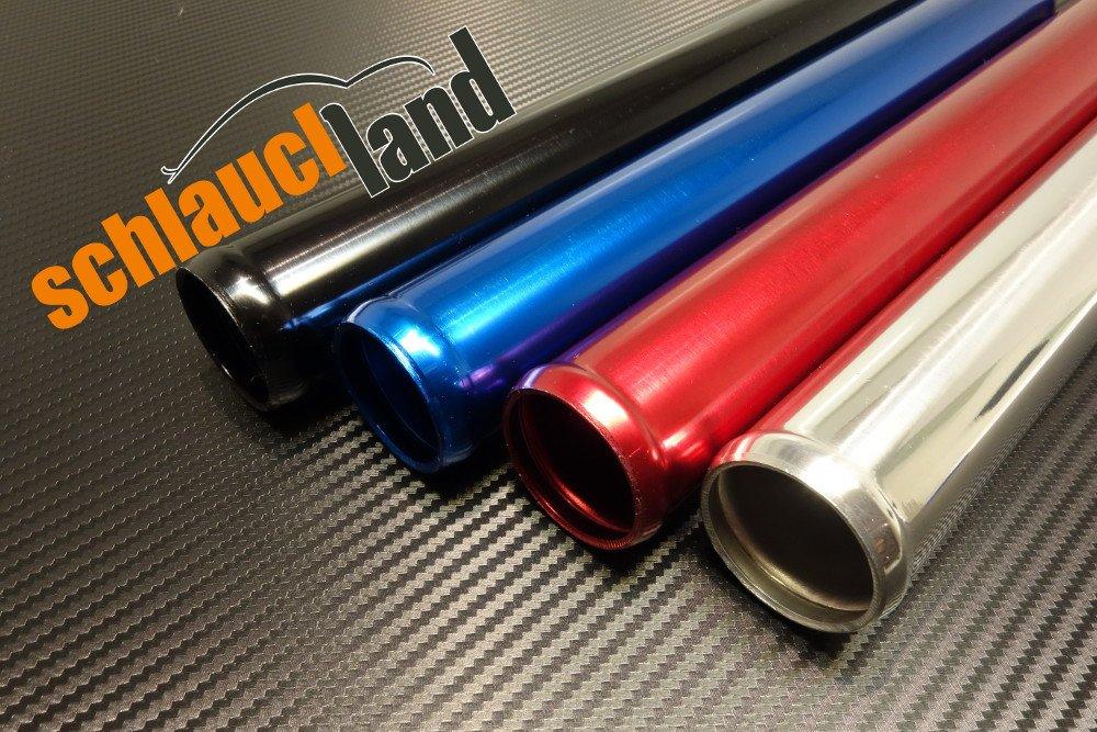 Schlauchland 30cm Alu-Rohr AD 38mm ***** Alurohr Aluminiumrohr Aluminum Pipe Turborohr Ladeluftk/ühler Turbo