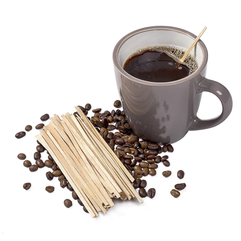 CiboWares 5.5'' Wood Coffee Beverage Stirrers, Package of 5000
