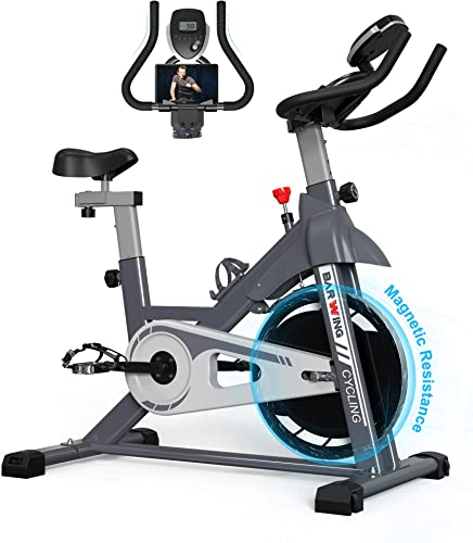 BARWING Exercise Bike Stationary Indoor Cycling Spinning Workout Bike