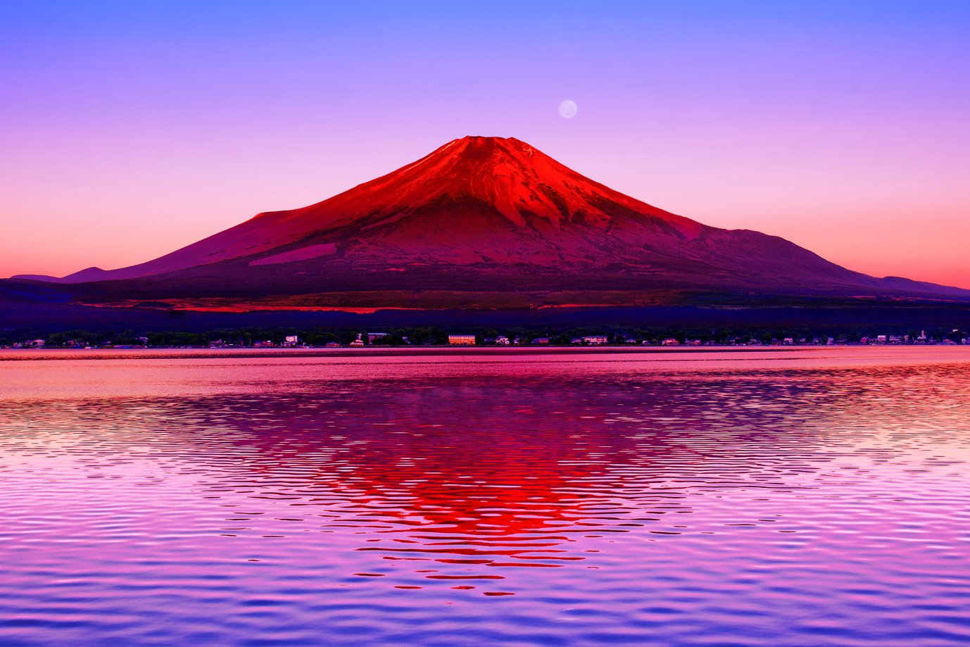 良質  1000ピース B008XPGPDK ジグソーパズル めざせパズルの達人 水面に映る赤富士-山梨(50x75cm) 1000ピース B008XPGPDK, 八郷町:db191392 --- a0267596.xsph.ru