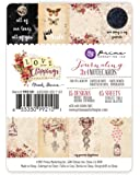 Prima Marketing 655350992101 3x4 Journaling Cards - Love Clippings Art