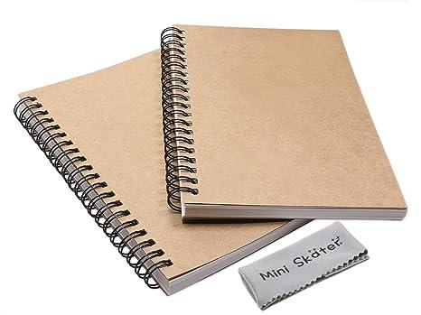 Amazon.com: Mini Skater - Cuaderno en espiral con cubierta ...