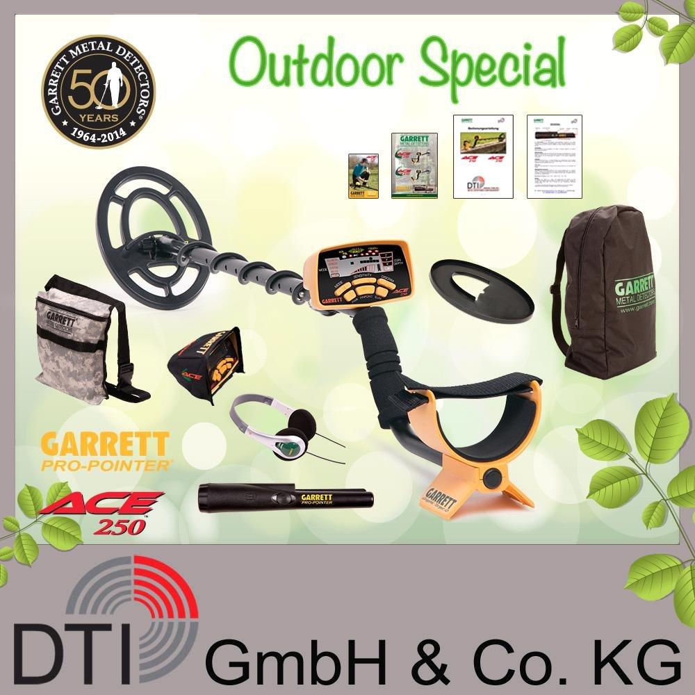 Detector de metales Garrett ACE{250} para mujer con Garrett Pro Pointer: Amazon.es: Electrónica