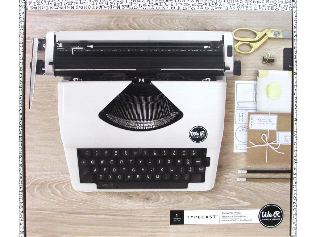 Typecast Retro Typewriter by We R Memory Keepers | Mint American Crafts 663062