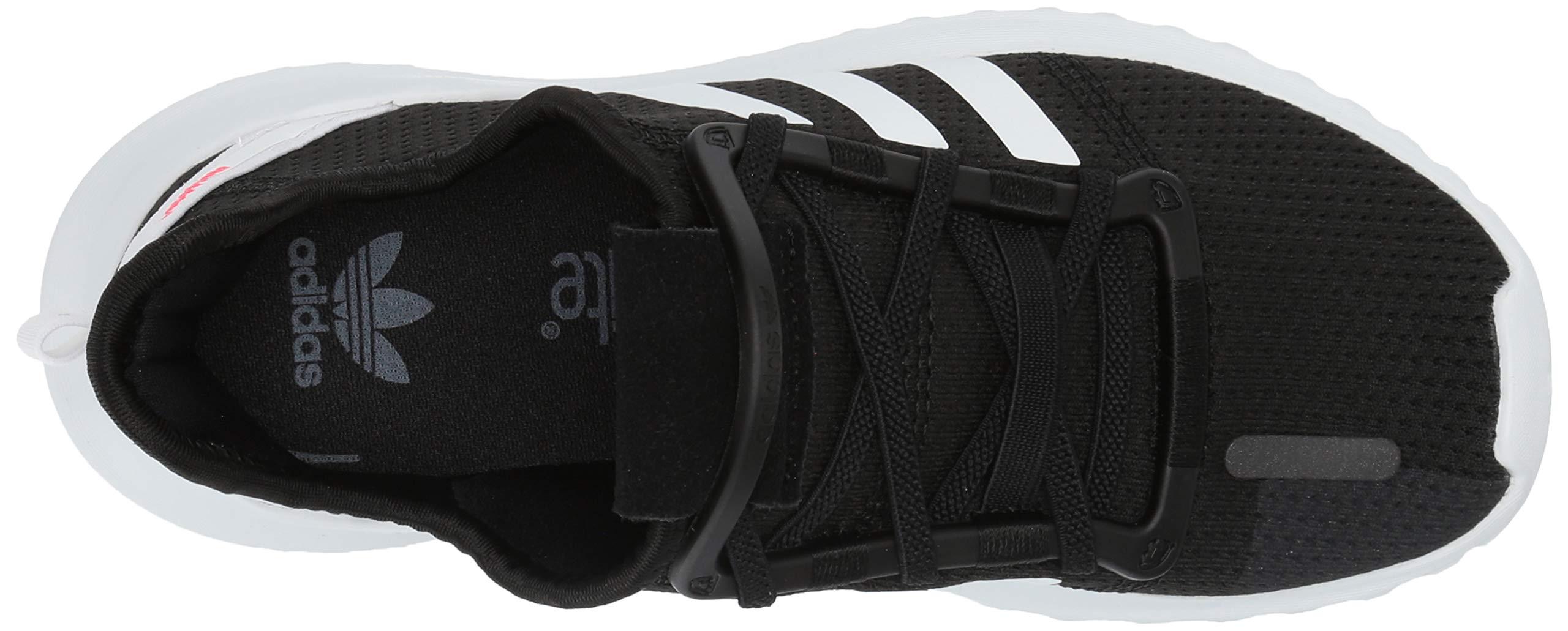 adidas Originals Baby U_Path Running Shoe Black/White/Shock red 6K M US Toddler by adidas Originals (Image #8)