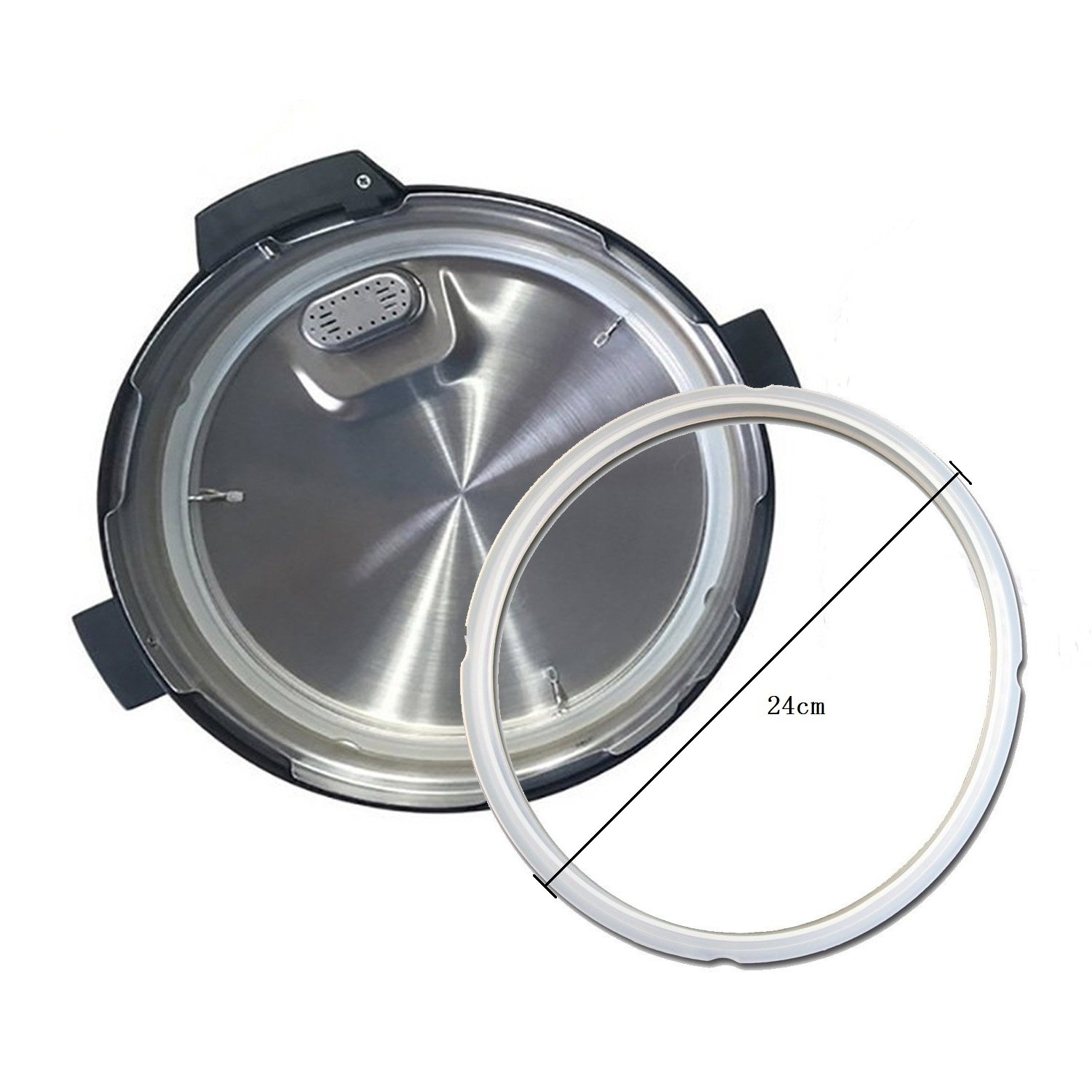 Universal Replacement Floater and Sealing Ring for Pressure Cookers,Power Pressure Cooker Accessory Mity Rain SYNCHKG131085
