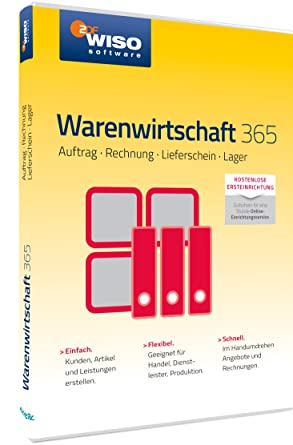 Wiso Warenwirtschaft 365 Frustfreie Verpackung Amazonde Software