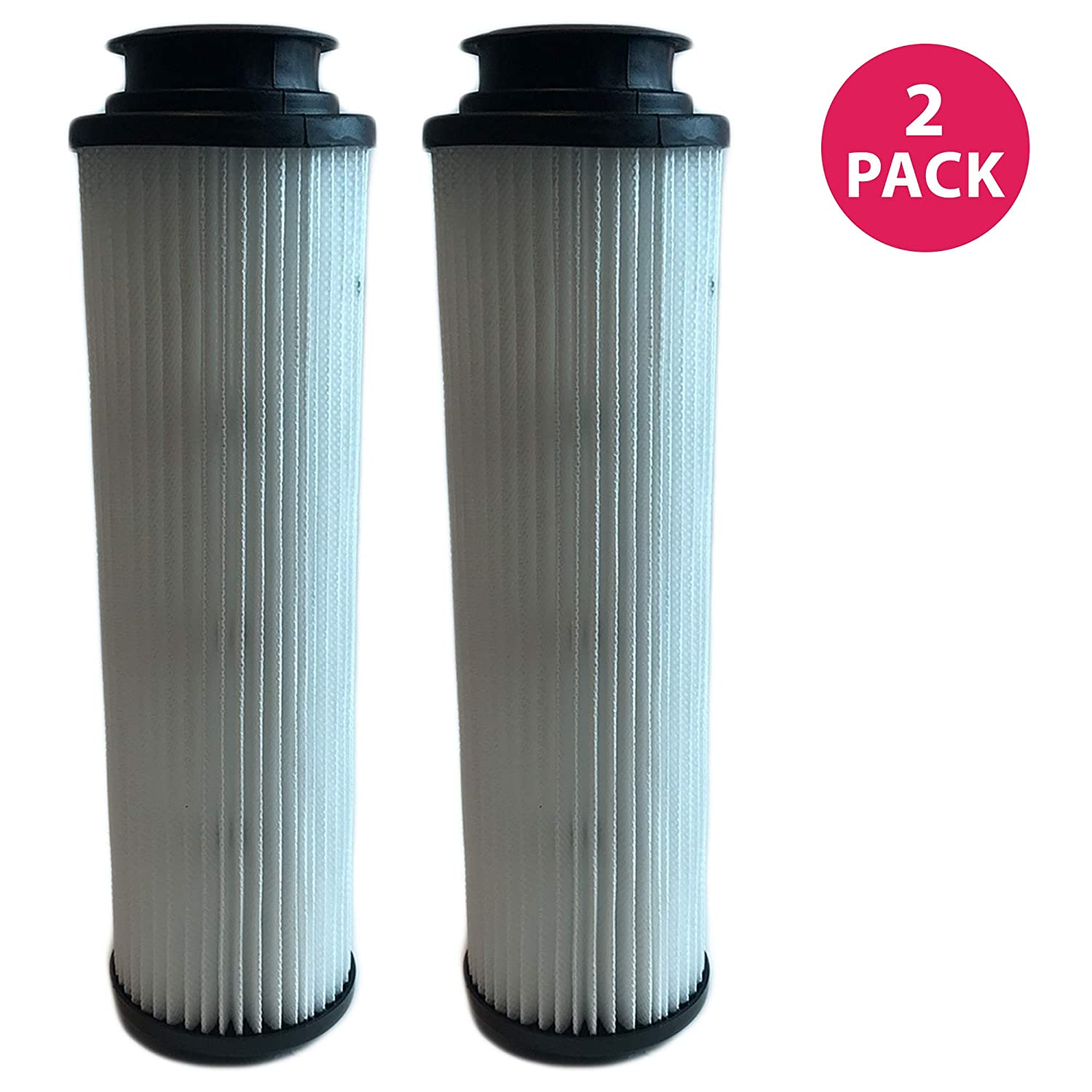 Think Crucial 2 Replacements for Hoover Windtunnel Bagless HEPA Style Filter Fits Empower & Savvy, Compatible With Part # 40140201, 43611042 & 42611049, Washable & Reusable