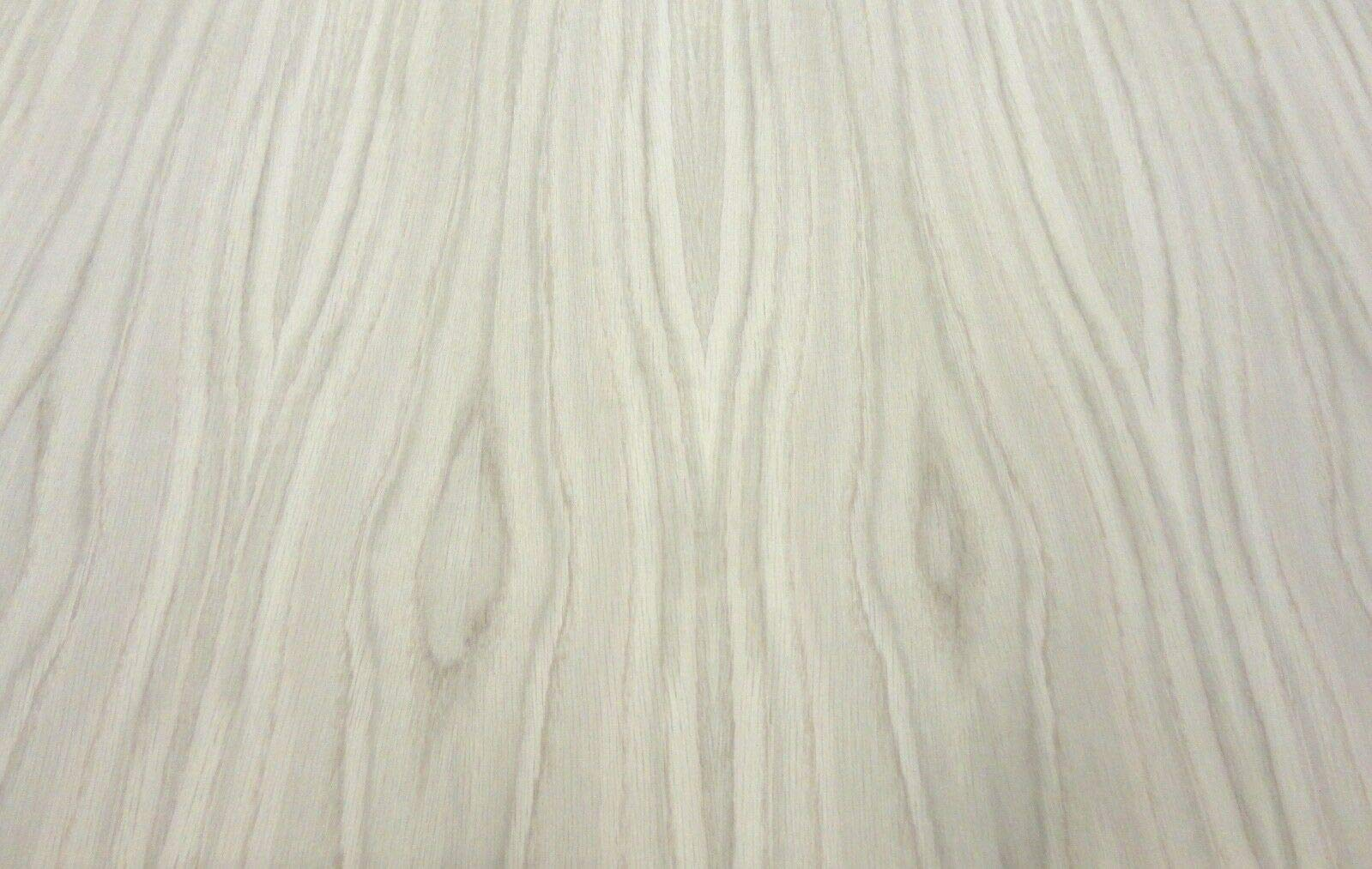 White Oak wood veneer sheet 48'' x 144'' with paper backer''A'' grade 1/40th'' thick