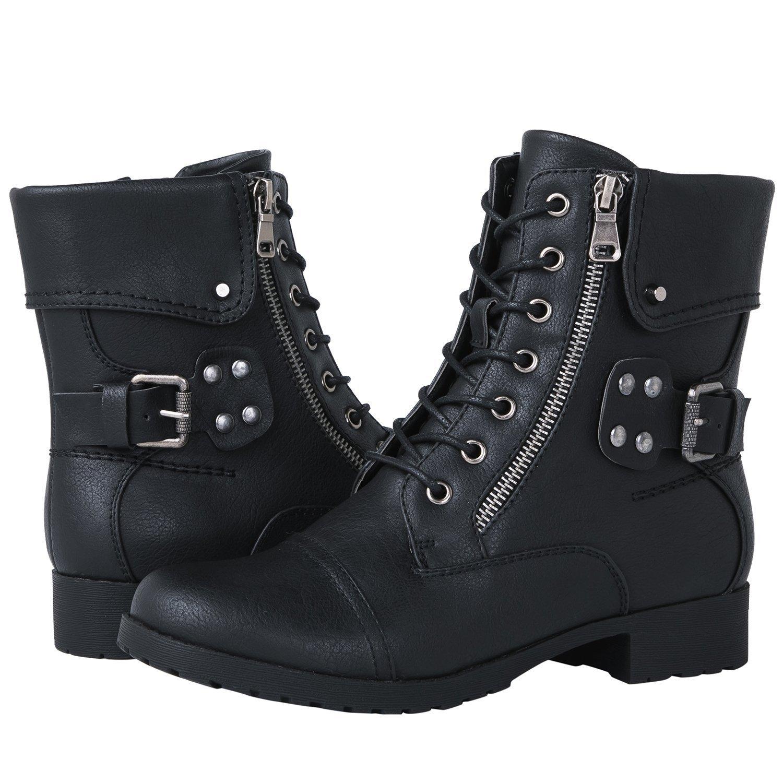 Globalwin Women's 1822 Black Fashion Boots 7M