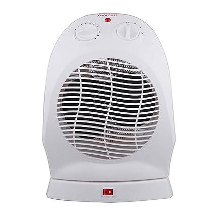 Vinteky Portátil, Seguro, Bajo Consumo,1200W/2400W Mini Calefactor Heater Eléctrico
