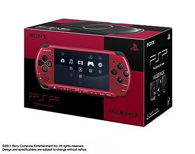SONY PSP Playstation Portable Value Pack Red Black Pspj-30026 Japan Import