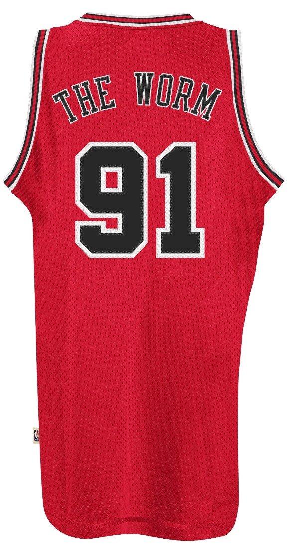 e0617a41505 Amazon.com   Dennis Rodman Chicago Bulls Adidas NBA Throwback