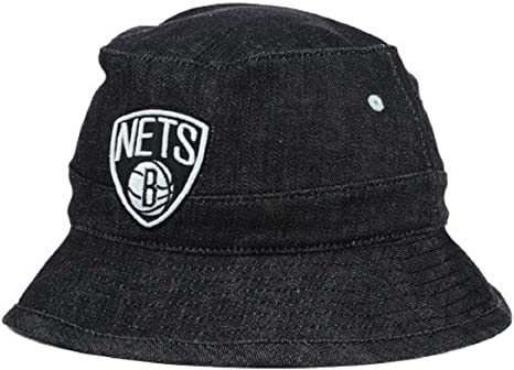 Mitchell & Ness – Gorra de la NBA Brooklyn Nets Denim cubo ...