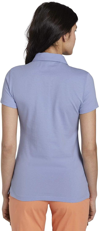 TOM TAILOR Damen Poloshirts Basic Poloshirt mit Brusttasche