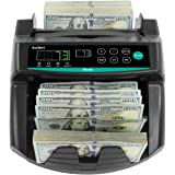 Kolibri Rook Money Counter with UV/MG/IR Counterfeit Detection – Count, Add & Batch Modes, Fast Bill Counter with a…