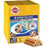 Pedigree Dentastix Dental Dog Chews - Small Dog, Pack of 10 (Total 10 x 7 Sticks)
