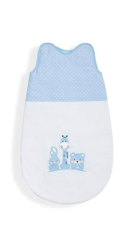 Interbaby – Saco de dormir, 70 cm, diseño de animales, color azul