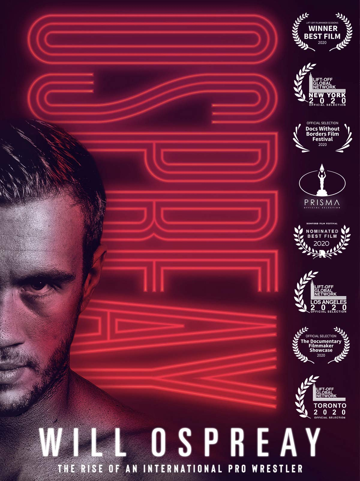 Ospreay: The Rise of an International Pro Wrestler on Amazon Prime Video UK