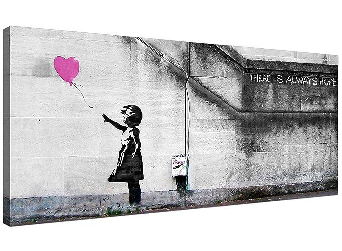 Wallfillers®. Arte de pared, lienzo grande, con diseño de niña con ...