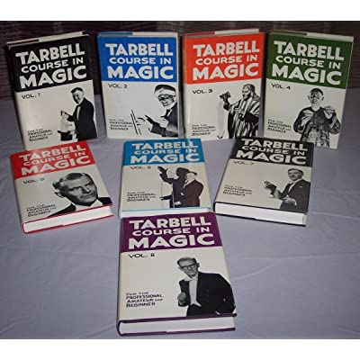 Tarbell Course in Magic Volume 1 thru 8: Toys & Games